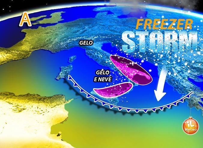 neve freezer storm italia