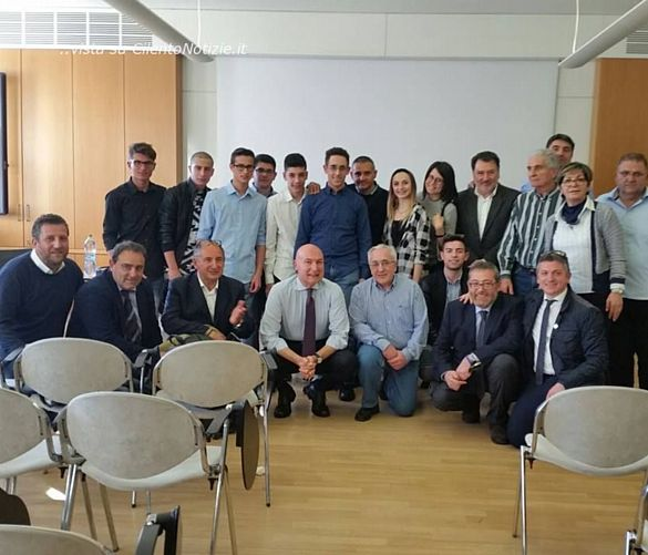 Tonino-Luppino foto - 05042017 Foto di gruppo a Milano
