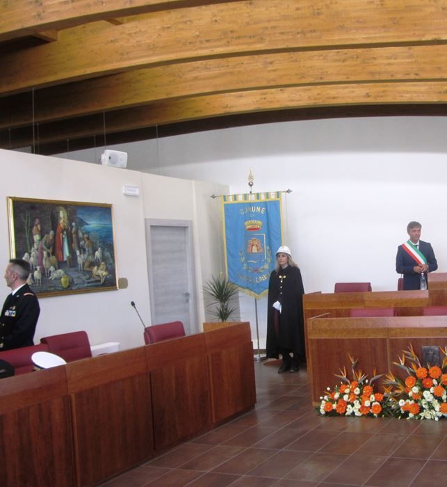 sala consiliare comune di castellabate