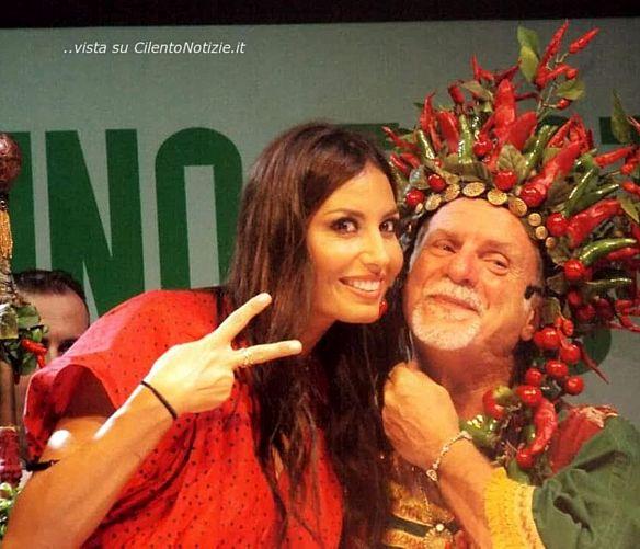 Tonino-Luppino foto - 06092018 Elisabetta Gregoraci con l'attore calabrese Gianni Pellegrino