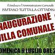 Comuni foto - 07072017 inaugurazione villa policastro