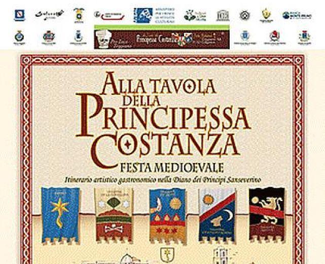 11 12 13 agosto la xx edizione di alla tavola della principessa costanza cilento notizie - Alla tavola della longevita ...