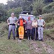 Dispersi sul Monte Gelbison, ritrovati sani e salvi dalla Forestale