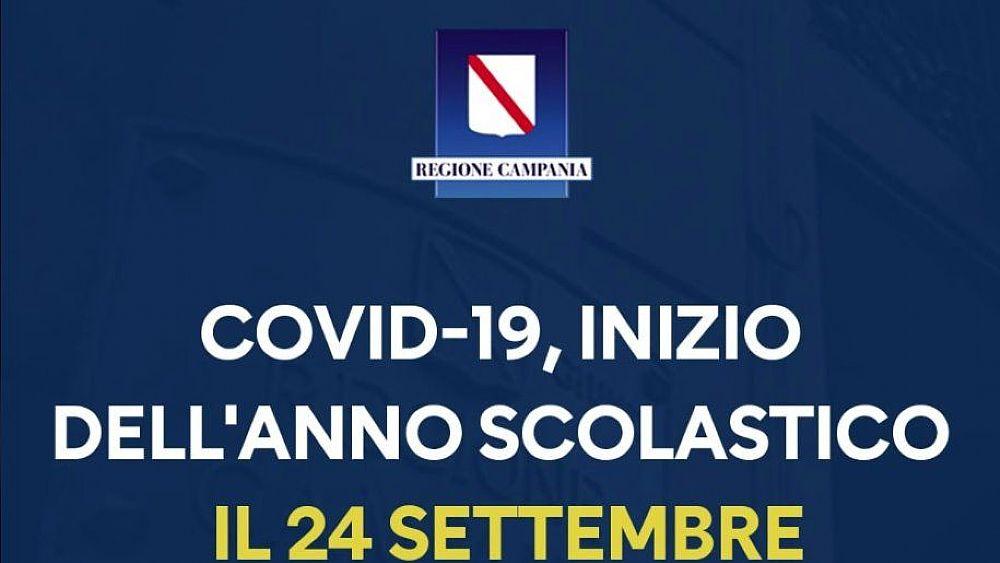 Covid 19 Inizio Anno Scolastico In Campania Il 24 Settembre Cilento Notizie