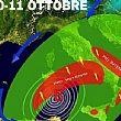 Cilento - Le ultime Notizie foto - 07102015 grafico maltempo sud