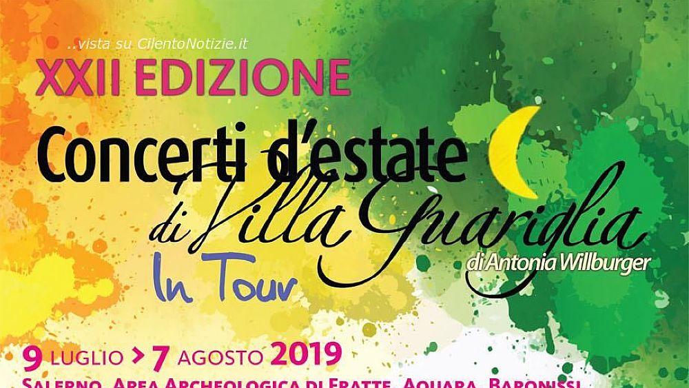 Concerti d´estate di Villa Guariglia   in tour! Il programma