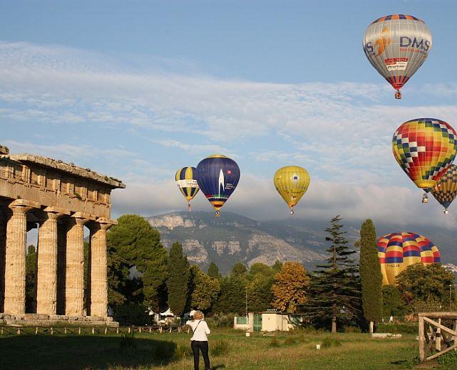 Paestum balloon festival tornano il prossimo mese le - Porta sirena capaccio ...