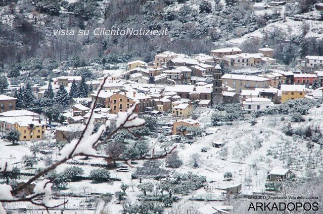 Continua la neve al sud situazione attuale nel cilento foto - Agenzie immobiliari vallo della lucania ...