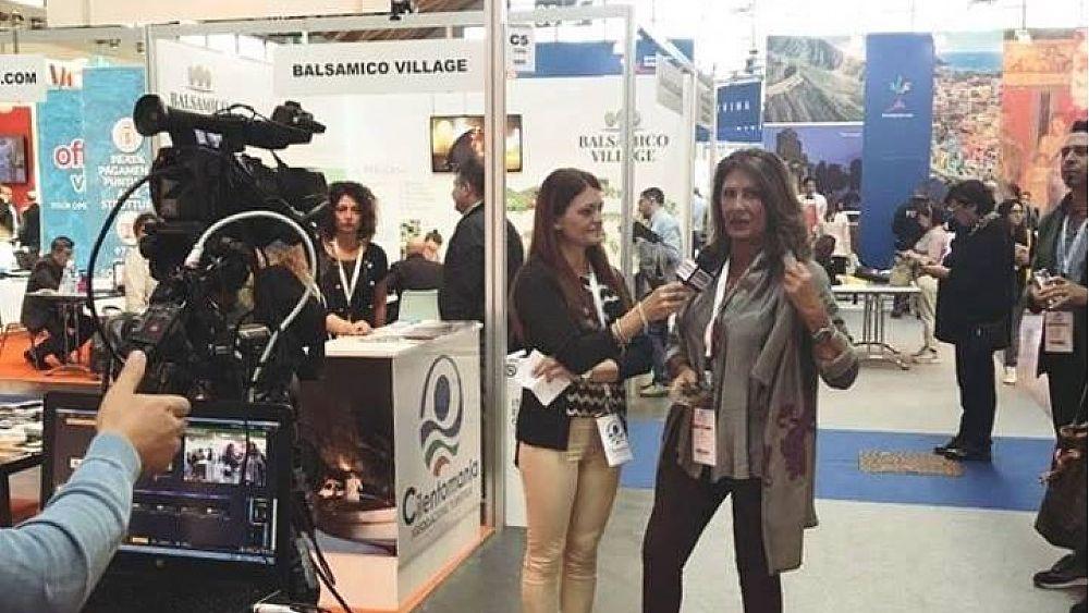 09102018 Luisa Maiuri Benvenuti nel Cilento stand 2017 Rimini