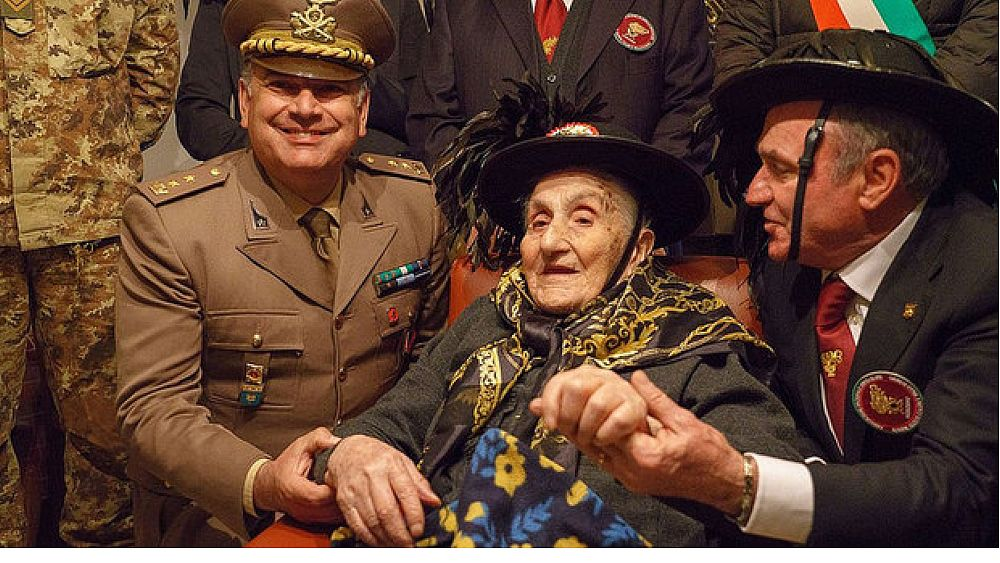 10062018 nonna Bersagliera del Cilento