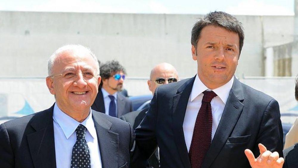 Campania, tour pomeridiano di Renzi: prove di disgelo con de Magistris