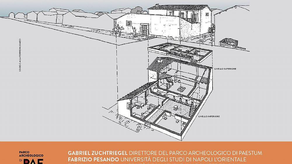 Risultati immagini per RICOSTRUZIONE DI UNA CASA GRECA DEL 500 A.C.