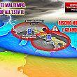 Cilento Notizie foto - 13062018 maltempo sud depressione