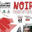 Pollica Notizie foto - 13082018 Locandina Noir Mediterraneo Maurizio De Giovanni