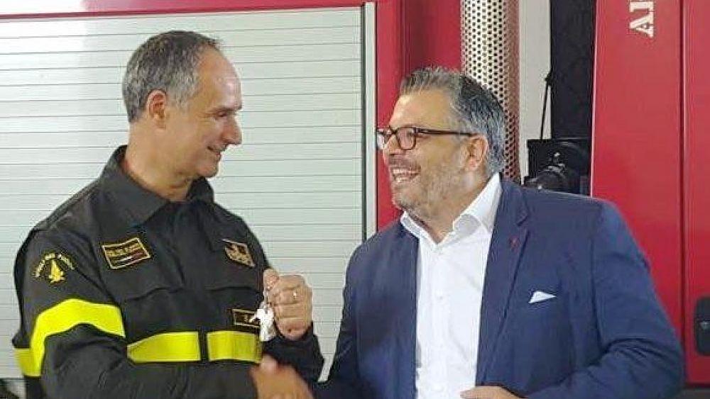 13092018 foto sindaco Coppola   De Acutis