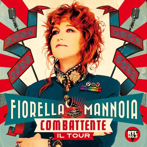 combattente il tour di Fiorella Mannoia