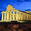 Capaccio PaestumNotizie foto - 14072017 templi di paestum di notte