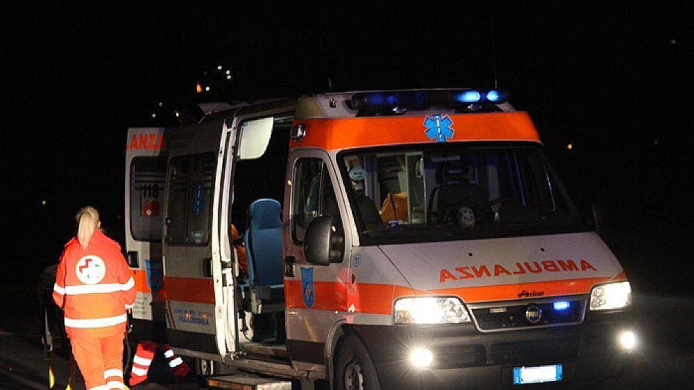 14092017 ambulanza notte