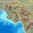 Scossa di terremoto magnitudo 3.7 nel Cilento