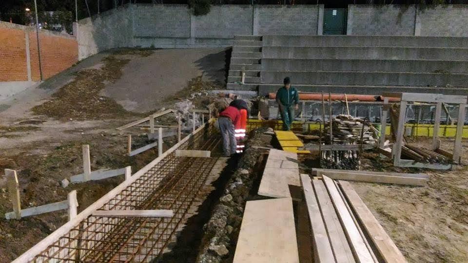 lavori di notte stadio