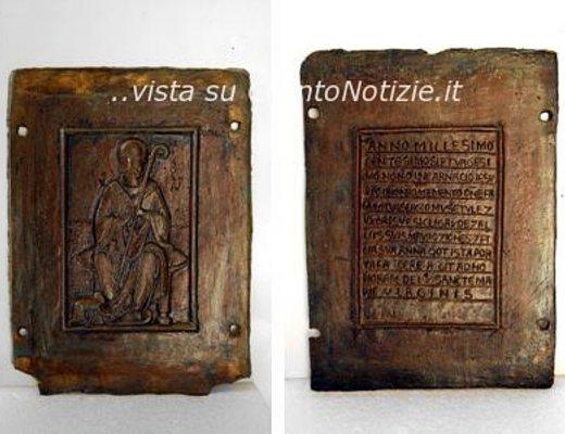 Dopo il prezioso restauro torna a ravello la porta del - Di trani porte ...