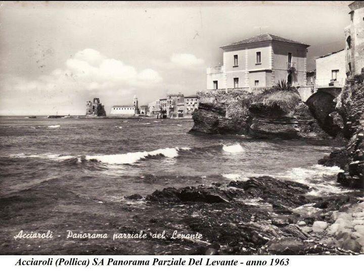 panorama foto storica di Acciaroli