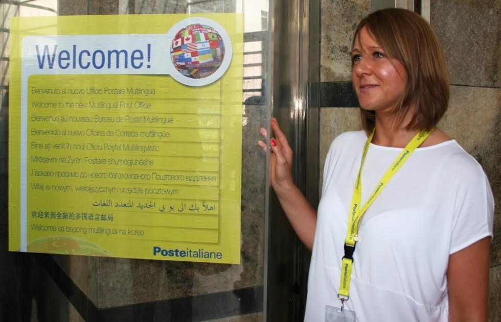 Poste italiane presenta l 39 ufficio postale multietnico for Poste italiane permesso di soggiorno