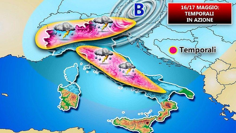 16052018 instabilita meteo italia