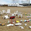 Cilento Notizie foto - 16082018 spiaggia sporca ferragosto