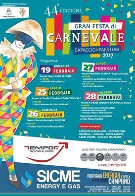 carnevale 2017 capaccio paestum