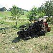 Cronaca foto - 17062016 trattore ribaltato