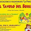 Spettacoli-eventi foto - 18042018 Locandina   Il Tavolo del Borgo