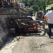 Cronaca foto - 18062016 incidente trattore ribaltato