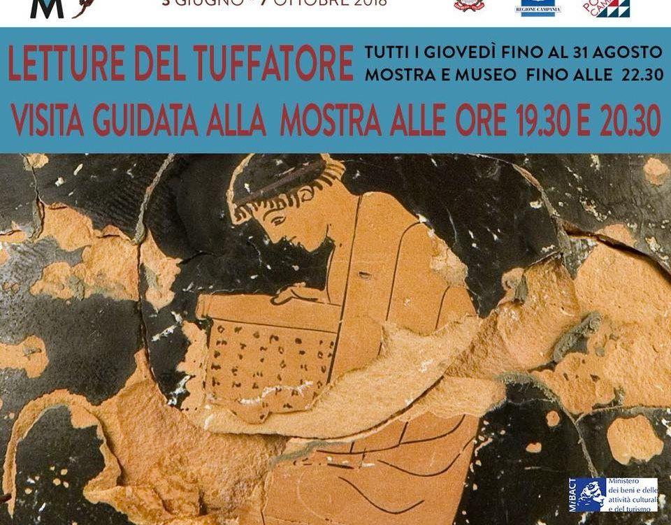 Spettacoli-eventi foto - 18062018 Locandina visite guidate Mostra Tuffatore.jpg