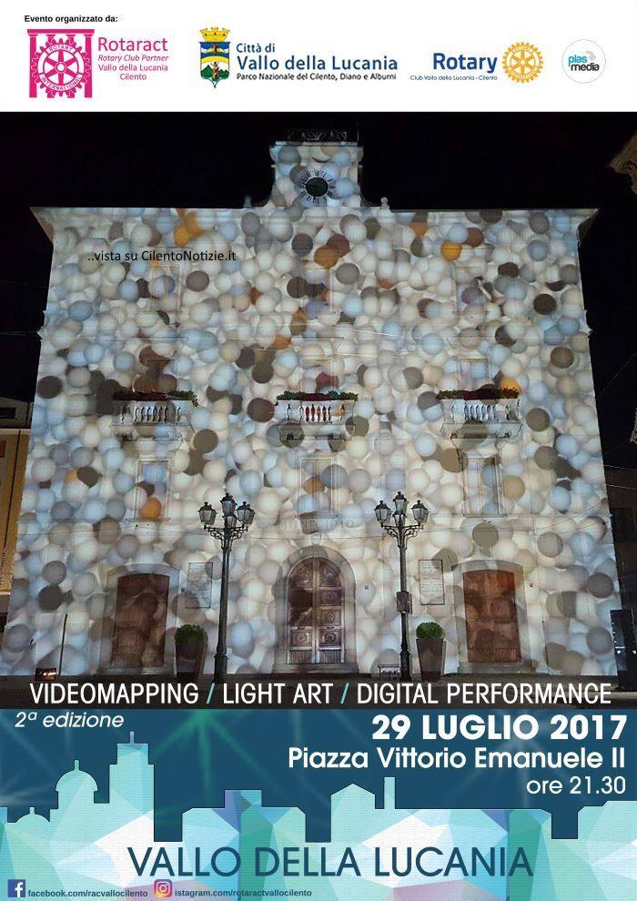 Vallo della lucania seconda edizione del videomapping 3d - Agenzie immobiliari vallo della lucania ...