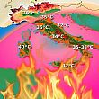 Avvisi foto - 18072018 meteo temperature africane italia