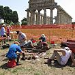 Capaccio Paestum Notizie foto - 18072018 Rilievi Tempio Athena ok