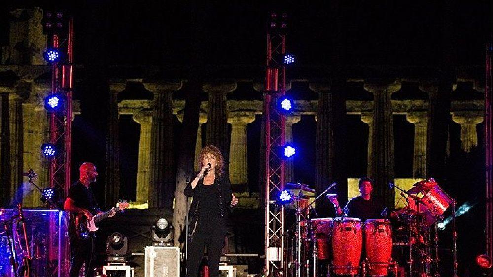 Domani a Paestum il concerto di Fiorella Mannoia - Cilento Notizie
