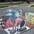 SalernoNotizie foto - 19102016 street art 3d