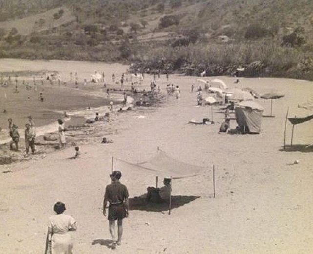foto storica acciaroli spiaggia