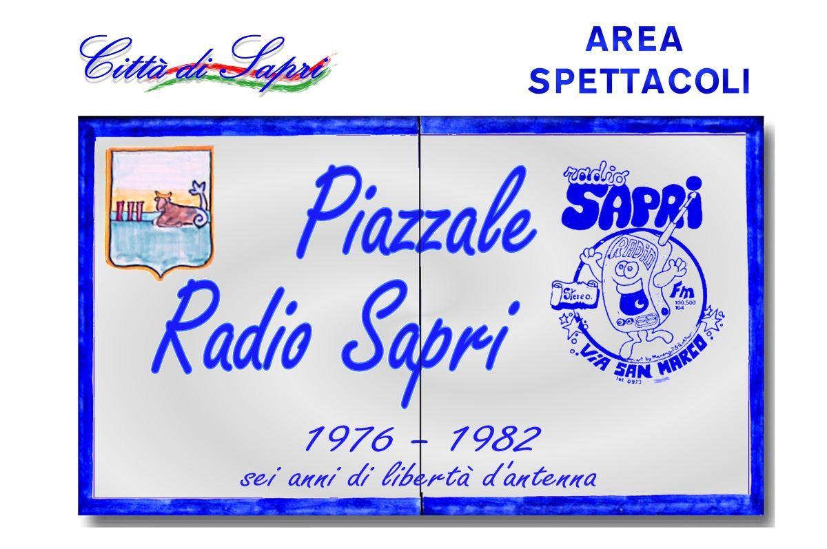 targa piazzale radio libere