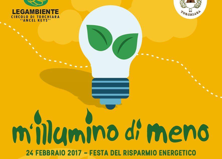 """""""m'illumino di meno"""" 2017, iniziative previste a Torchiara e San Mauro Cilento"""