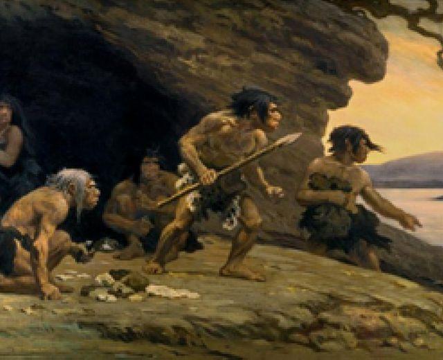 Nel cilento grotte preistoriche in una abit l uomo di for Piani di caverna dell uomo