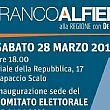 Battipaglia e Capaccio, aprono i comitati elettorali per Franco Alfieri