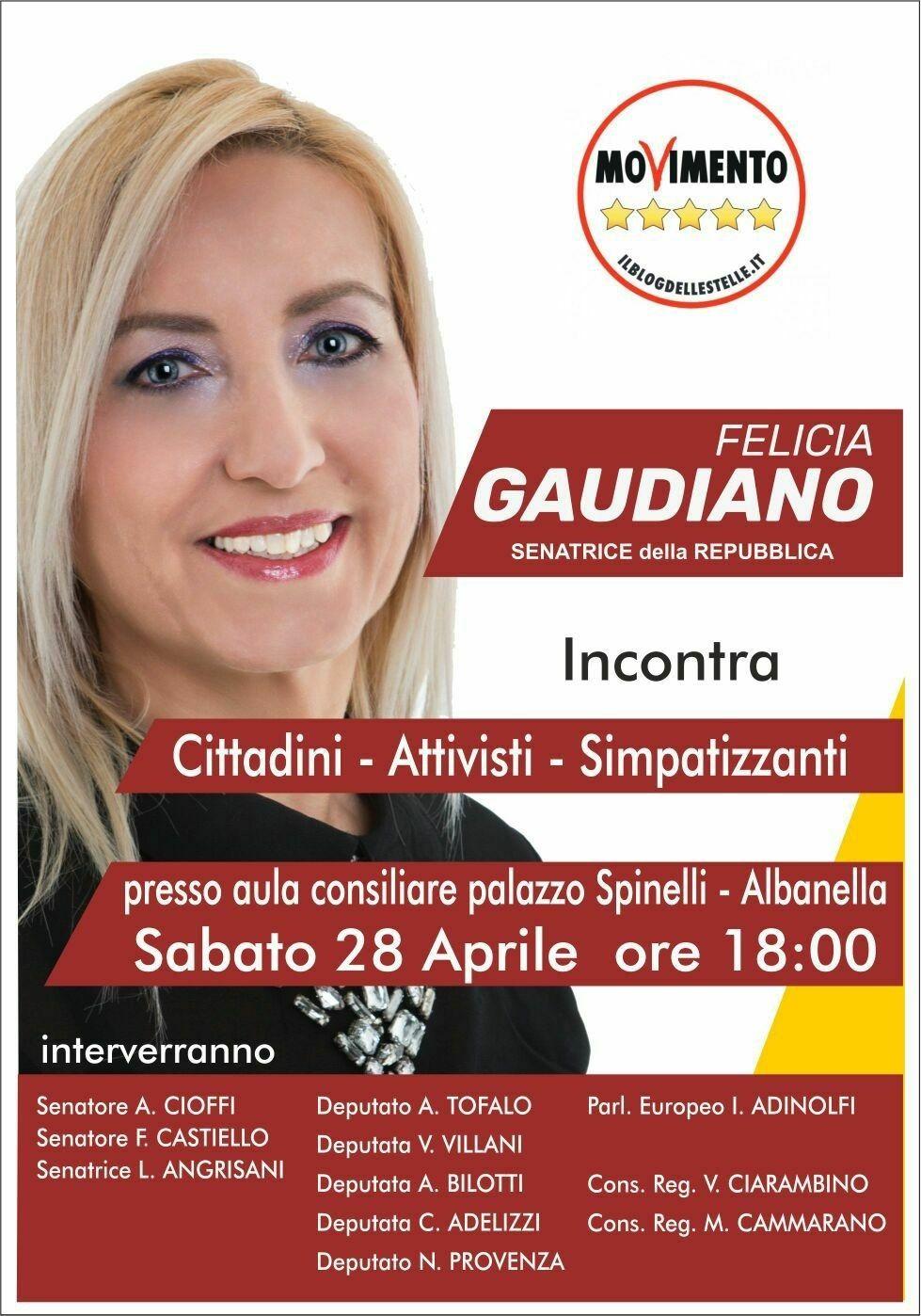 Salerno movimento 5 stelle presenta deputati e senatori for Deputati movimento 5 stelle
