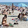 Cronaca foto - 28082016 spiaggia affollata