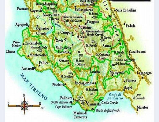 Sapri Cartina Geografica.Castellabate Offre La Sua Accreditata Vetrina A Tutti I Comuni