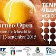 Torneo di Tennis Open Nazionale 03/13 settembre 2015 - Tennis Village Agropoli