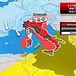 Avvisi foto - 30012018 meteo 1 3 febbraio maltempo sull italia