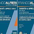 Elezioni regionali: prossimi incontri di Franco Alfieri